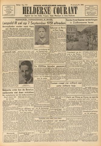 Heldersche Courant 1950-08-01