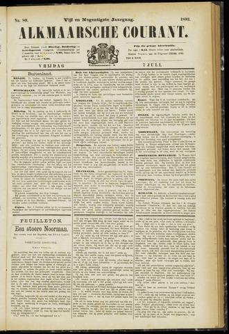 Alkmaarsche Courant 1893-07-07