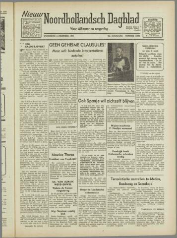 Nieuw Noordhollandsch Dagblad : voor Alkmaar en omgeving 1946-12-04