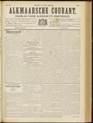 Alkmaarsche Courant 1908-03-04