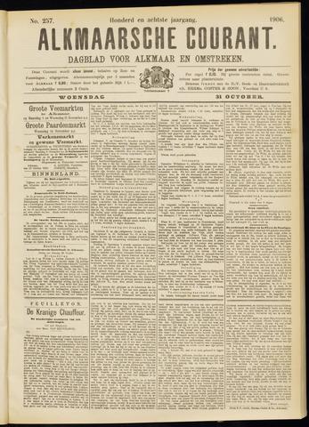 Alkmaarsche Courant 1906-10-31
