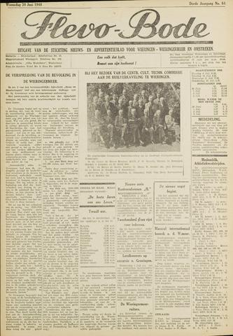 Flevo-bode: nieuwsblad voor Wieringen-Wieringermeer 1948-06-30