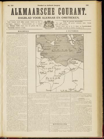 Alkmaarsche Courant 1911-10-02