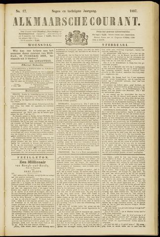 Alkmaarsche Courant 1887-02-09