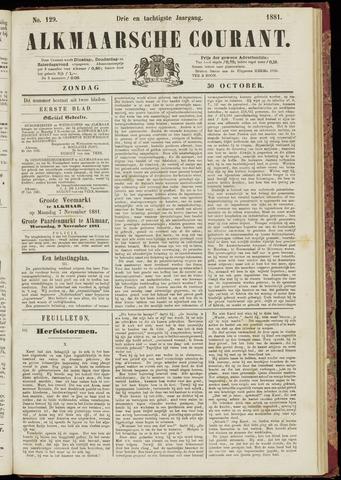 Alkmaarsche Courant 1881-10-30
