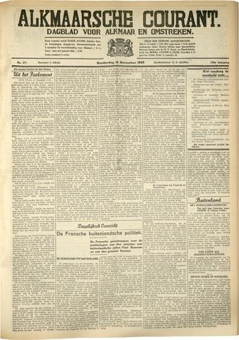 Alkmaarsche Courant 1933-11-16