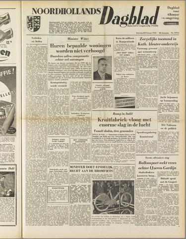 Noordhollands Dagblad : dagblad voor Alkmaar en omgeving 1953-02-28