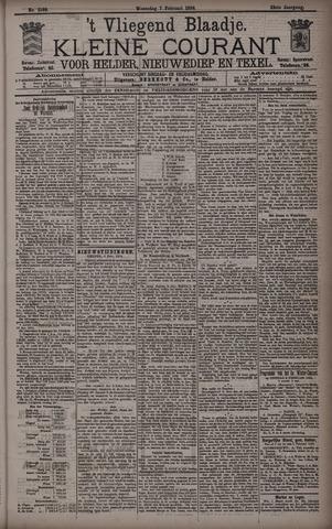 Vliegend blaadje : nieuws- en advertentiebode voor Den Helder 1894-02-07