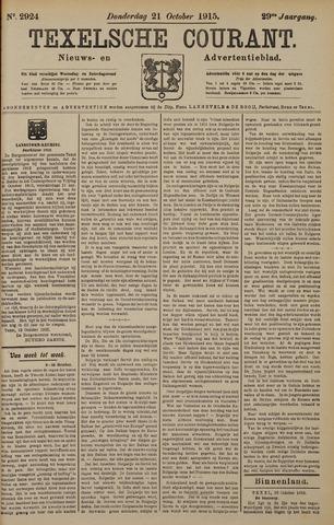 Texelsche Courant 1915-10-21