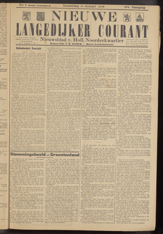 Nieuwe Langedijker Courant 1928-01-12