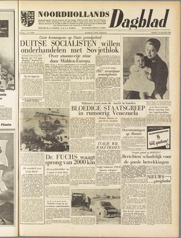 Noordhollands Dagblad : dagblad voor Alkmaar en omgeving 1958-01-24