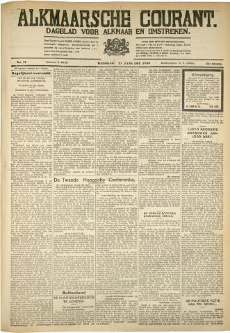Alkmaarsche Courant 1930-01-21