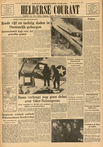 Heldersche Courant 1954-01-14