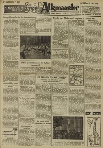 De Vrije Alkmaarder 1949-05-07