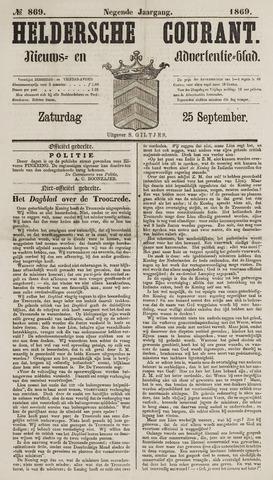 Heldersche Courant 1869-09-25