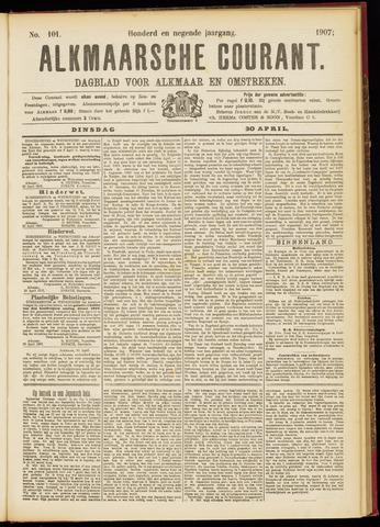 Alkmaarsche Courant 1907-04-30