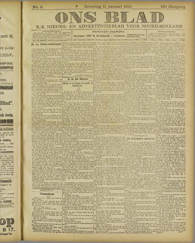 Ons Blad : katholiek nieuwsblad voor N-H 1919-01-11