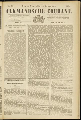 Alkmaarsche Courant 1889-02-10