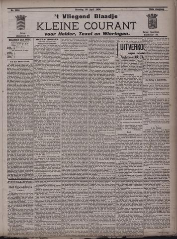 Vliegend blaadje : nieuws- en advertentiebode voor Den Helder 1900-04-28