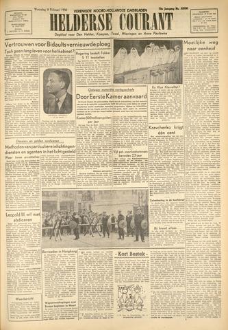 Heldersche Courant 1950-02-08