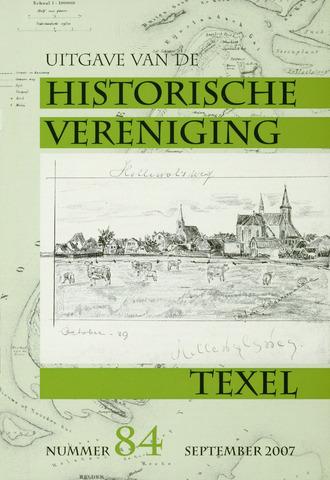 Uitgave Historische Vereniging Texel 2007-09-01