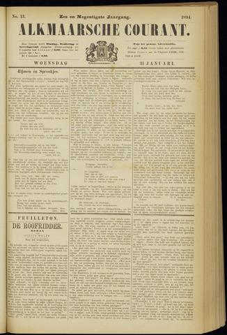 Alkmaarsche Courant 1894-01-31