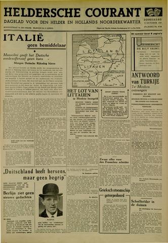 Heldersche Courant 1939-10-05