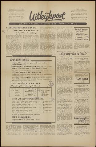 Uitkijkpost : nieuwsblad voor Heiloo e.o. 1958-02-14