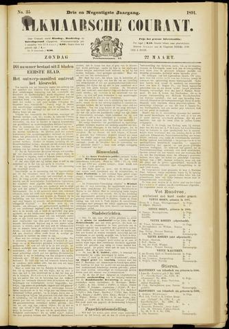 Alkmaarsche Courant 1891-03-22