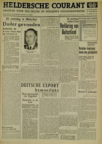 Heldersche Courant 1939-11-22