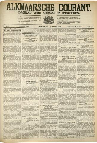 Alkmaarsche Courant 1930-03-05