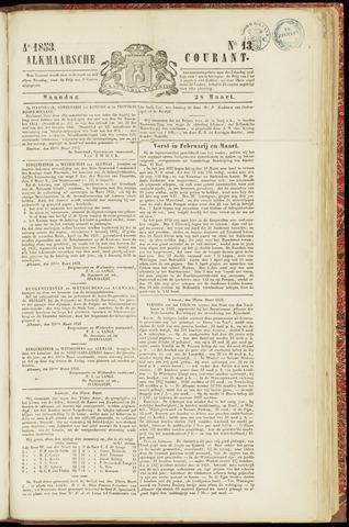 Alkmaarsche Courant 1853-03-28
