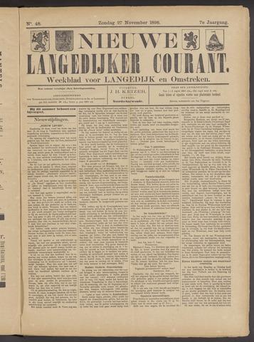 Nieuwe Langedijker Courant 1898-11-27