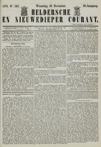 Heldersche en Nieuwedieper Courant 1870-11-30