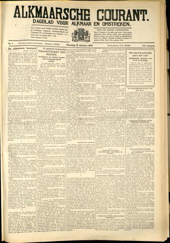 Alkmaarsche Courant 1937-01-12