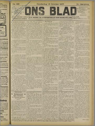 Ons Blad : katholiek nieuwsblad voor N-H 1917-10-18