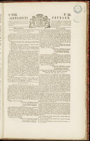 Alkmaarsche Courant 1851-06-16