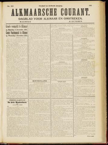 Alkmaarsche Courant 1911-10-16