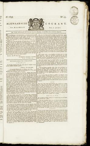 Alkmaarsche Courant 1835-07-06