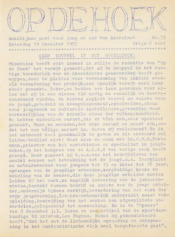 Op De Hoek, weekblad voor Akersloot 1955-12-10