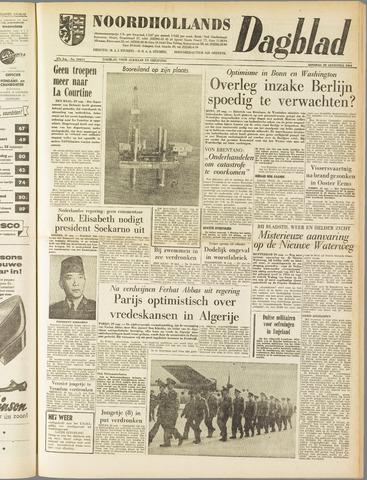 Noordhollands Dagblad : dagblad voor Alkmaar en omgeving 1961-08-29
