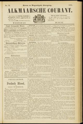 Alkmaarsche Courant 1895-06-19
