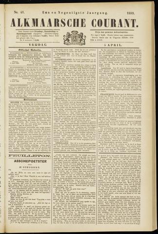 Alkmaarsche Courant 1889-04-05