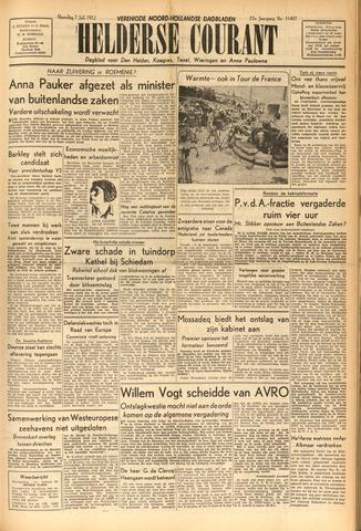 Heldersche Courant 1952-07-07
