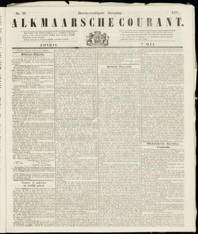 Alkmaarsche Courant 1871-05-07