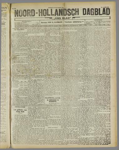 Ons Blad : katholiek nieuwsblad voor N-H 1921-11-29