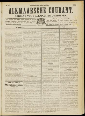 Alkmaarsche Courant 1912-07-23