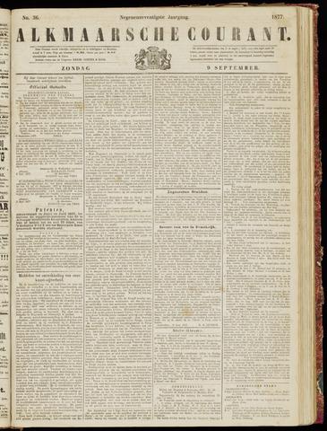 Alkmaarsche Courant 1877-09-09