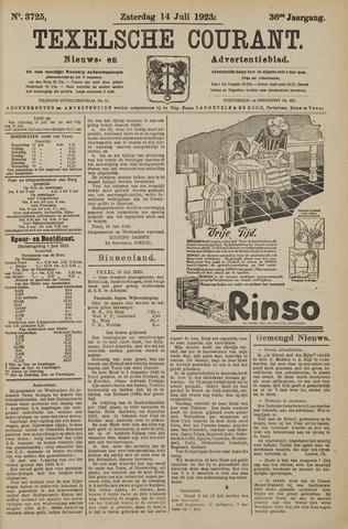 Texelsche Courant 1923-07-14