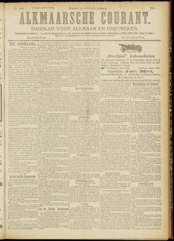 Alkmaarsche Courant 1916-08-12